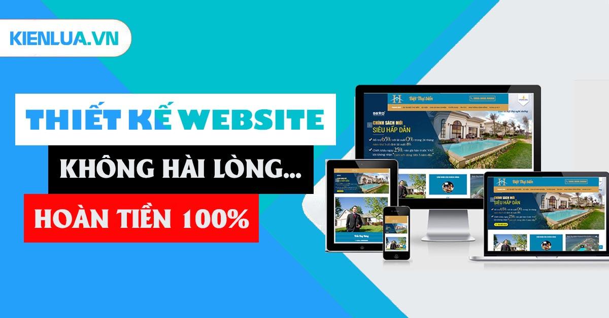 Cam kết của Kiến Lửa với khách hàng ở dịch vụ thiết kế website